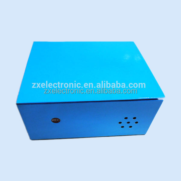 OEM Design Voice Recordable Music Box With Light Sensor