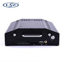 4CH Hard Disk SD Card Bus Truck Car Mobile <strong>DVR</strong>