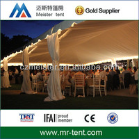Big high quality frame tent hiring for wedding