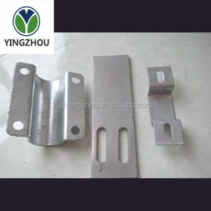 Hot galvanizing sheet metal cnc punching and stamping parts
