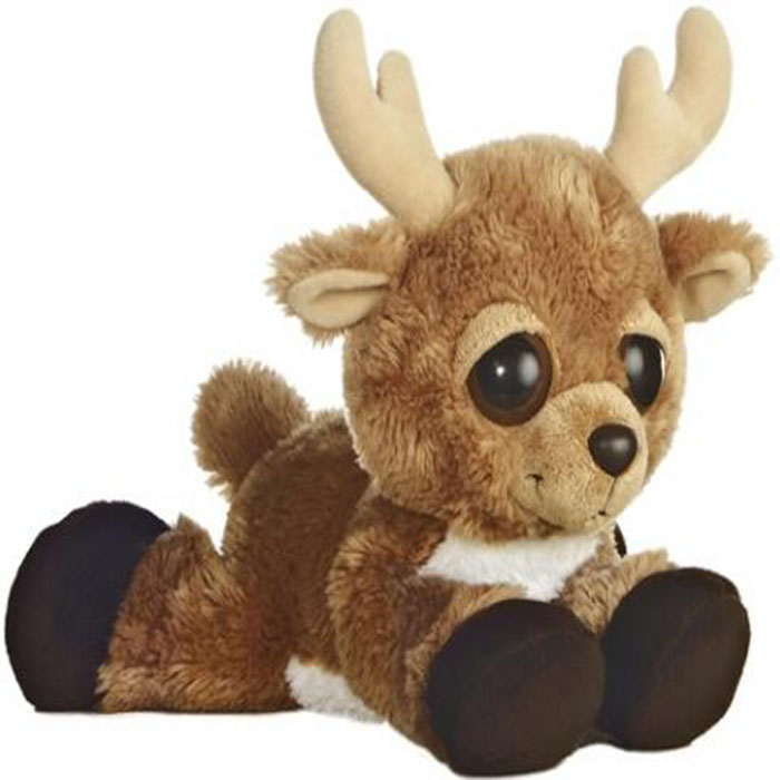 TOP QUALITY HOT SALE CUTE BROWN reindeer stuffed animals
