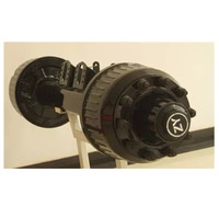 High quality box truck trailer axles parts 10 bolt wheel hub trailer axle American type axles