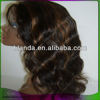100% Brazilian human hair full lace wig germany suppliers