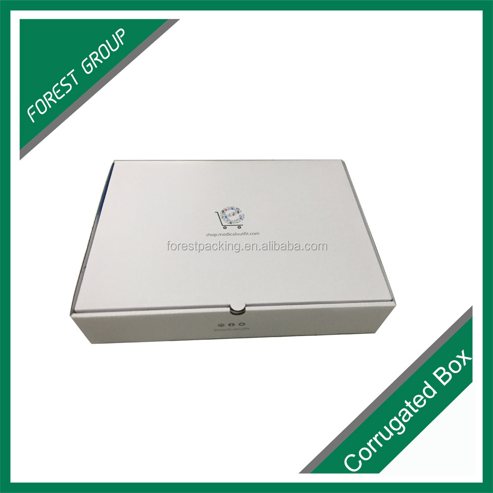 High quality CMYK full offset printed colored shipping box wholesale