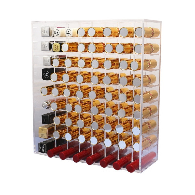 Hot Sale Acrylic Clear Lipstick Display Holder
