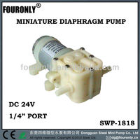 SWP-1818 series DC 12V / 24V electric water dispenser micro diaphragm pump