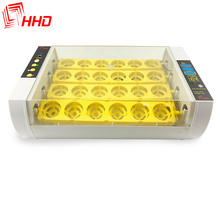 HHD poultry farming equipment chicken 24 egg incubator parrot brooders for sale EW9-24A