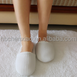 hotel wholesale items for waffle hotel/spa/travel/bedroom slippers /slipper buy online