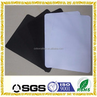 blank white fabric mouse pad for sublimation rubber foam sheets