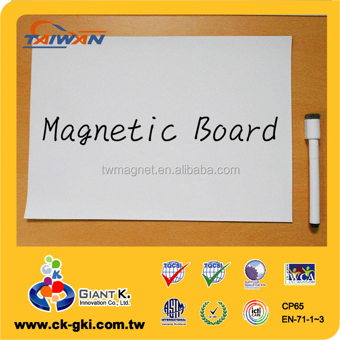 Factory price standard whiteboard magnet customize