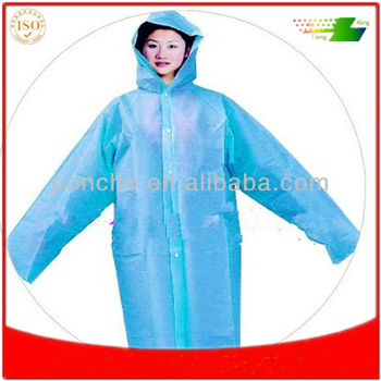 manufacture of pvc raincoats
