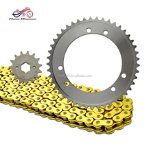 Many stock VFR400(phase 24) motorcycle drive chain kit & motorcycle chain wheel sprocket