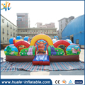 2017 top quality PVC bouncy castle material/guangzhou inflatable bouncy castle for kids