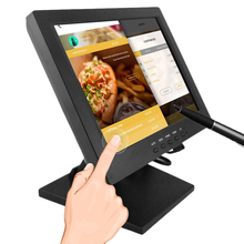 TFT-LCD touchscreen usb powered 12 inch touch screen monitor