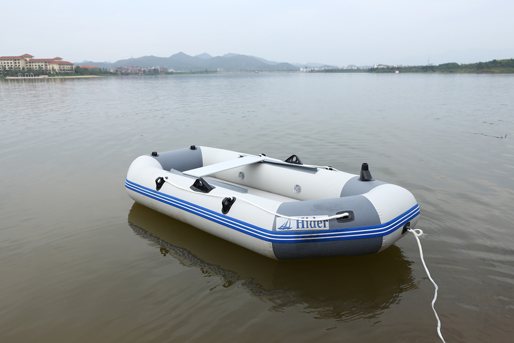 2.3/2.65/3.0m 2/3/4-person Inflatable Life Boat with Light Weight Air Mat Floor, Inflatable Rubber Boat