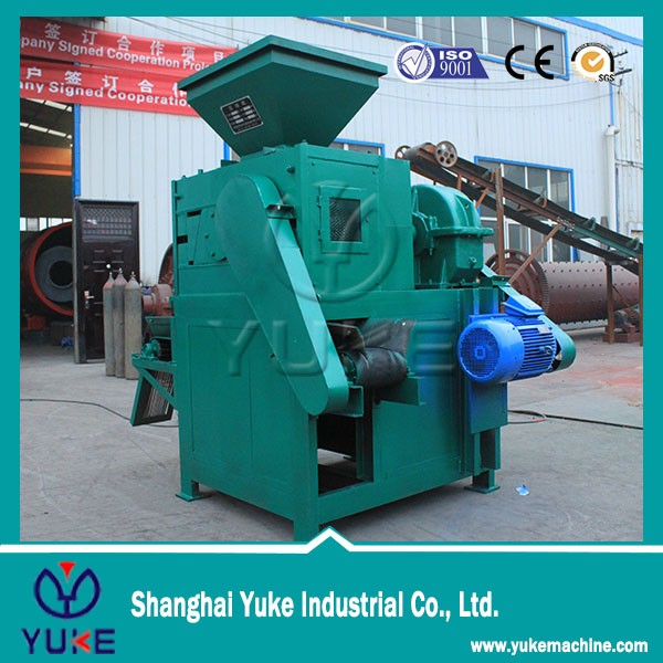 high strength mill scale Snow melting agent briquetting machine