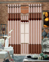 2015 hot sale the luxuriant elegant hookless curtain