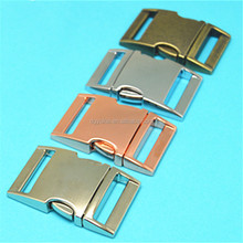 High quality Curved 1 inch metal buckle,wholesale pet collar buckle,metal buckles for bags