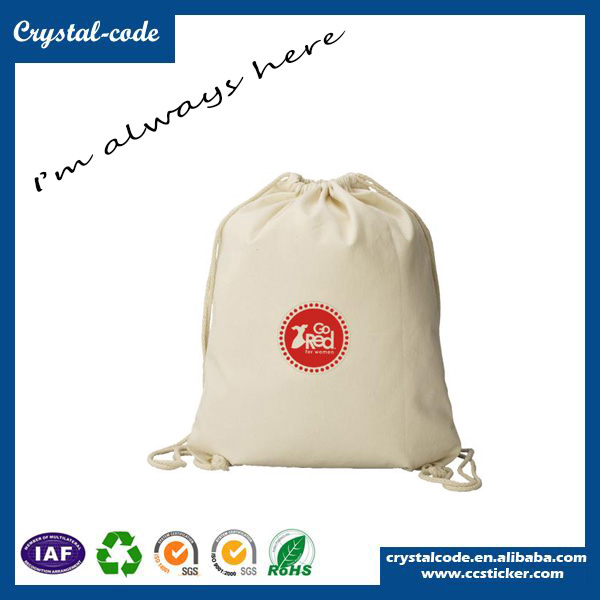 Free Samples Cotton Canvas Drawstring Laundry Disposable Nonwoven Cloth Bag