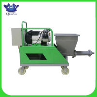 made in China cement rendering machine
