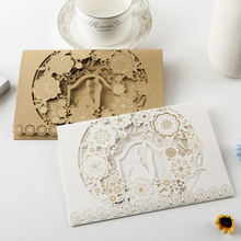 Elegant Wedding Invitations Gold White Hot Sale Wedding Invitation Card