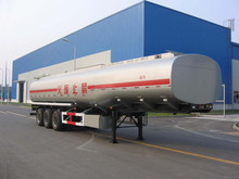 China capacity fuel tank truck or used fuel tanker truck trailer