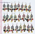 Color Thread Earrings Handcrafted Costume Jewelry Art Wholesale