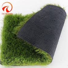 High Density dtex 25mm most realistic Straight-cured mixed quality garden artificial turf