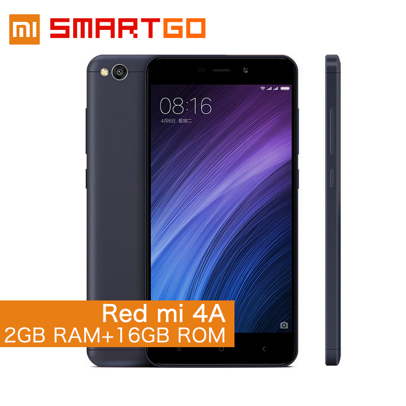 Excellent Quality RedMi 4A Rose Gold lcd dual sim smartphone android ultra slim smart phone