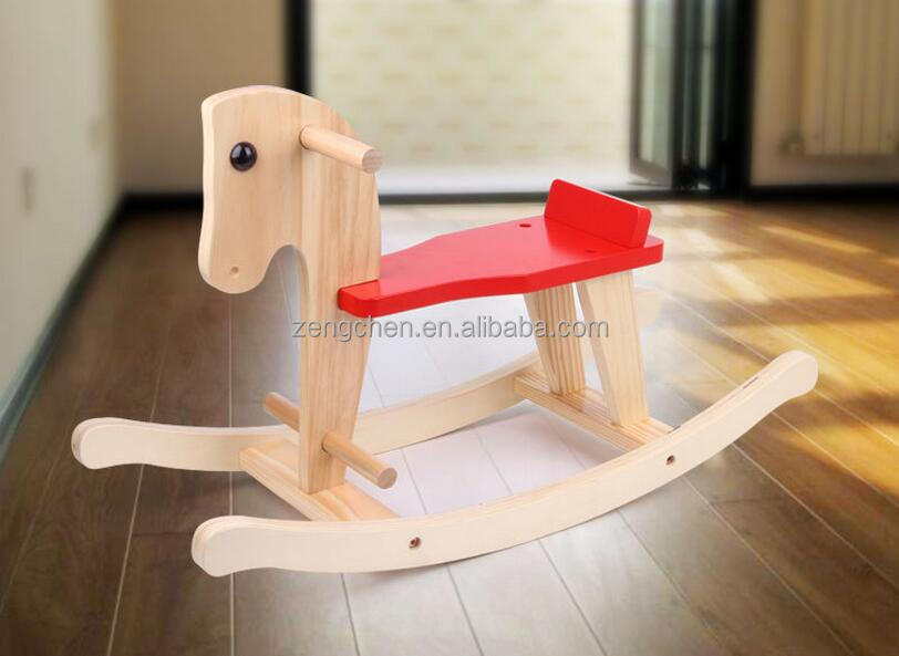 New Wooden Rocking Horse,Baby Horse Toy