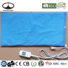 Electric Heating Pad with Thermal Temperature Control