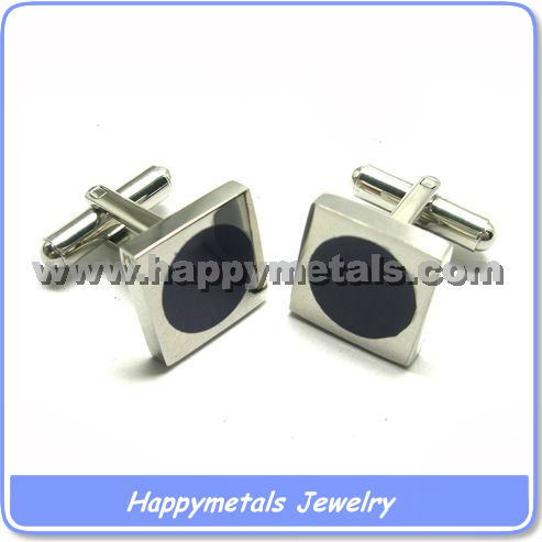 316L stainless steel cufflinks findings CL5344