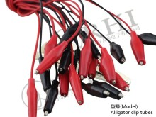 0293(202-0293) Positive & Negative small plastic alligator clips motorcycle battery terminal