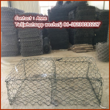 High Quality Gabion Box PVC coated hexagonal wire mesh (The Manufacturer&Exporter)