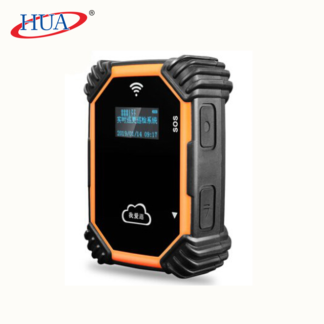 Portable GPRS guard tour system device with free guard tour management system software download