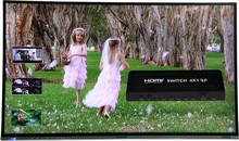 Seamlessly 4-way selector switch Supports Picture in Picture Function