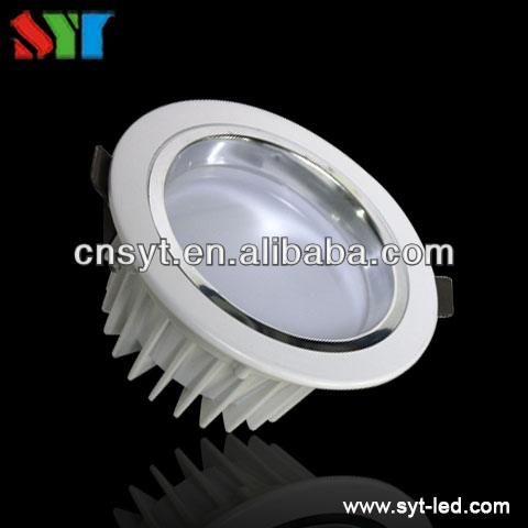 Square trimless 6W LED recessed downlight / CITIZEN adjustable halogen light / adjustable trimless LED downlight