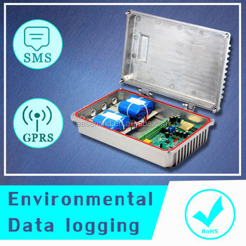 wireless measurement equipment Environmental Data logging gprs modem