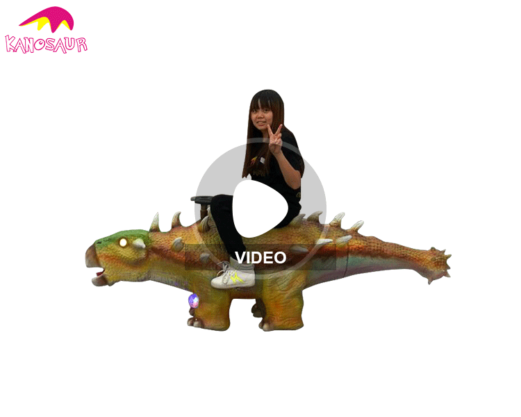 KANO0224 Outdoor Customized Decoration Funny Interactive Dinosaur Model
