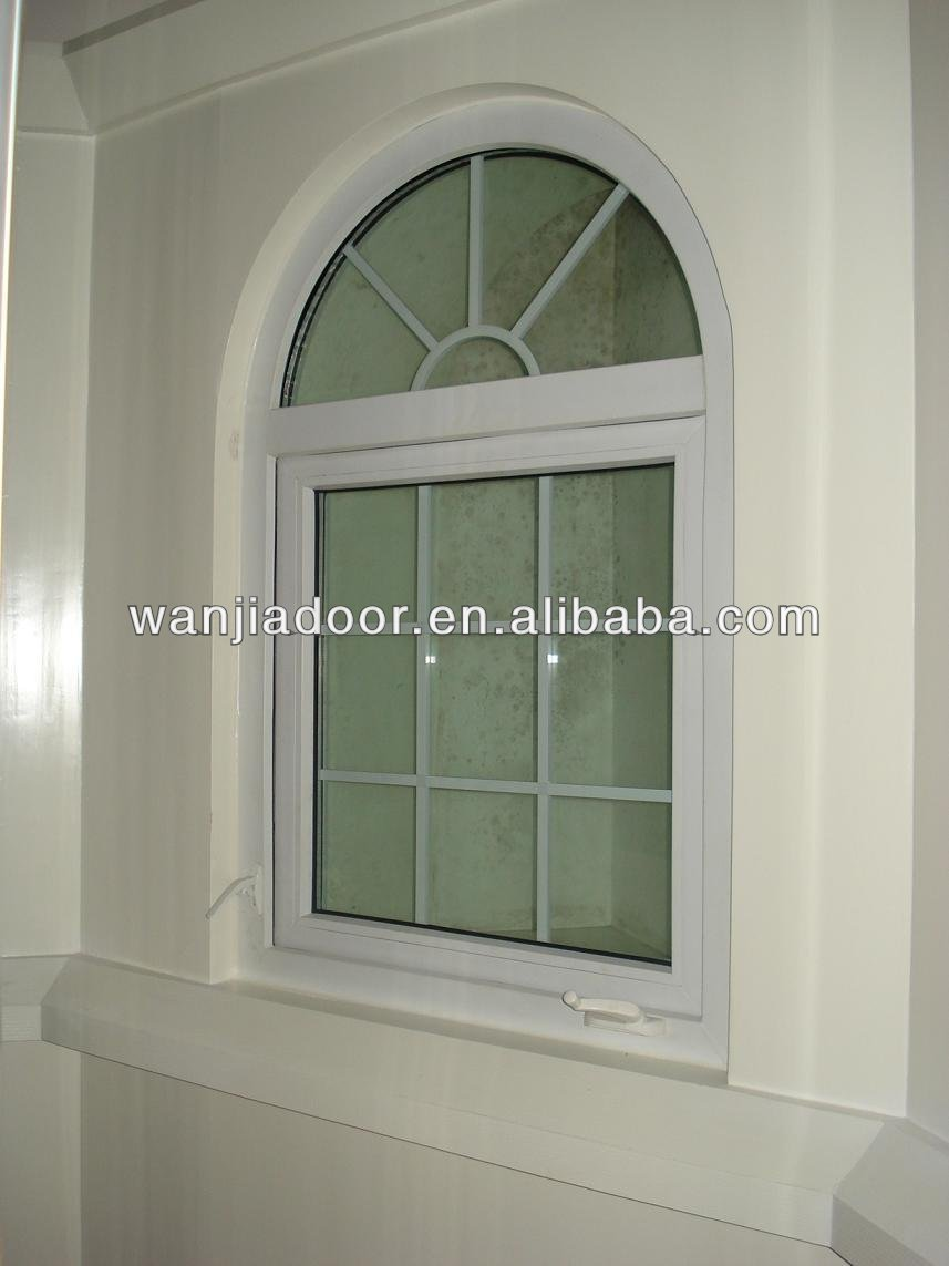 Arch Window With Grid/aluminum Arch Top Windows/foshan Wanjia ...