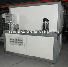 Second hand hand feeding automatic stretch blow molding machine with 2 cavity