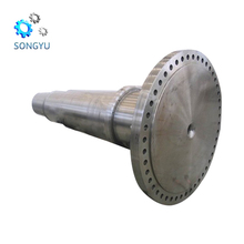 Chinese manufacturer oem blank long forged gear shaft