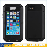 Hot sale gorilla glass metal case for iphone 5c shockproof cases
