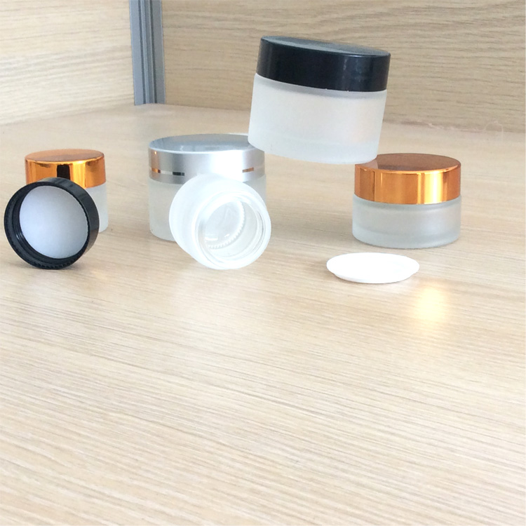 Wholesale Free Sample Glass Cosmetic Container