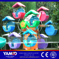 Attractive children games funfair rides mini ferris wheel/ amusement park equipment for family