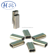 Copper Duplex Oval Crimping Sleeves Aluminum Tube Sleeve