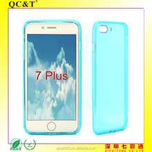 For iPhone 7 Plus Transparent Waterproof Case TPU Clear Protective Dustproof Snowproof Phone Cover