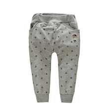 Wholesale Anchor pattern baby casual trousers baby harem pants