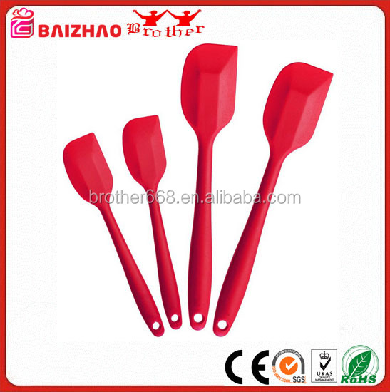 Heat Resistant 5-piece set Silicone Kitchen Utensils with FDA
