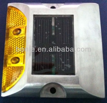BSL-101 Yellow Blank Solar Road Stud
